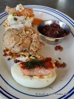 Liberty Kitchen deviled eggs