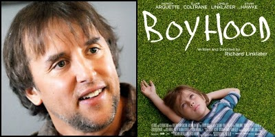 BOYHOOD written and directed by Richard Linklater, nominated for Best Original Screenplay Academy Award