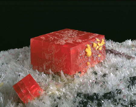 colorados state mineral is the deep red rhodochrosite the colorado state archives tells us that on april 17 2002 colorado governor bill owens signed a