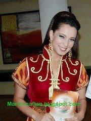 Samira El Beloui En Mode Caftan