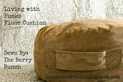 The Berry Bunch: Floor Cushion: Free Pattern Friday with Mae and K
