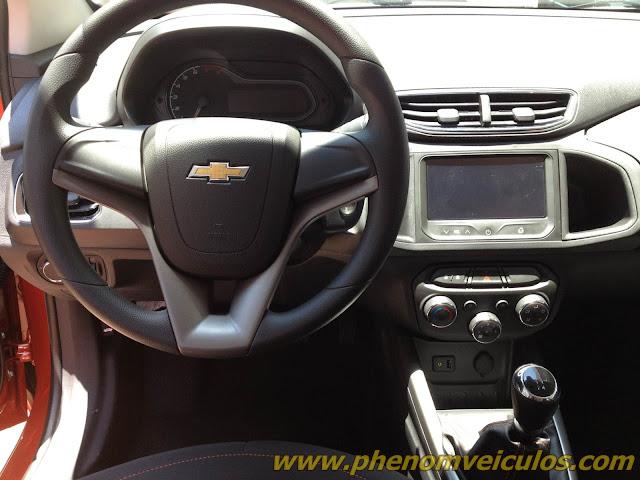Onix da Chevrolet - interior