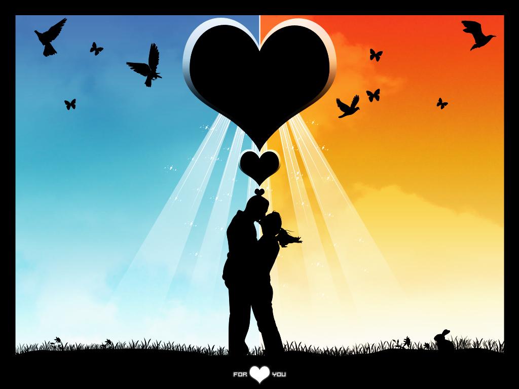 Liebesbilder Und Liebessprüche Hd Wallpaper
