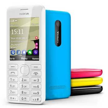 Nokia Asha 206: 1.3 MP Camera