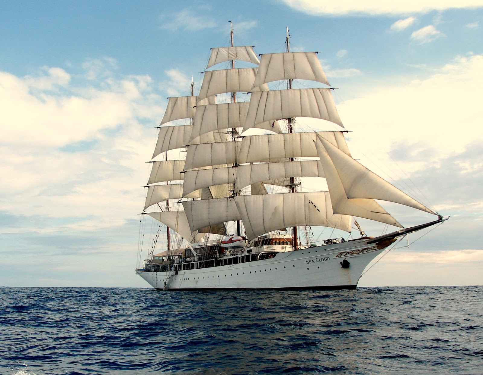 Sea Cloud Sail Yacht Photos Marine Vessel Traffic