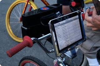 acessório Suporte Bicicleta iPad