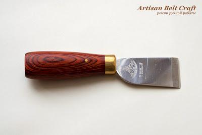 японский нож для истончения кожи