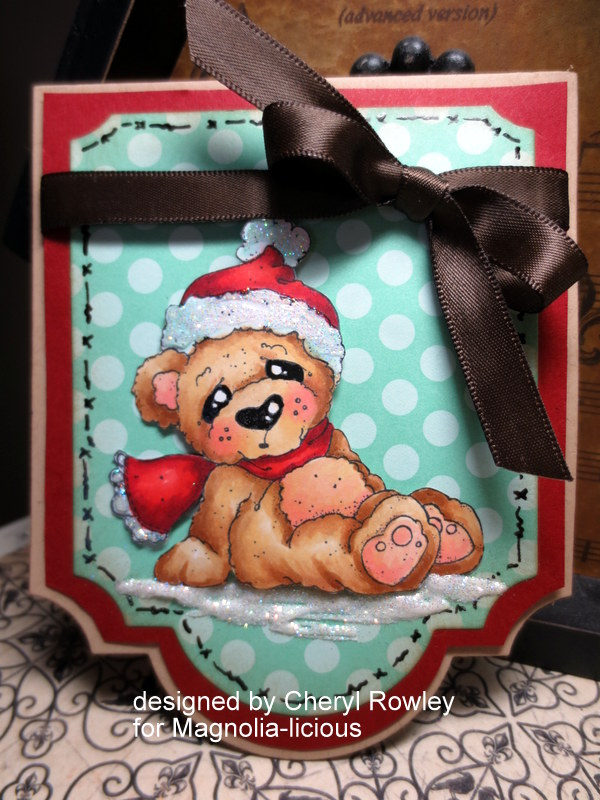 Cottage Creations: CUTE COZY CHRISTMAS BEAR