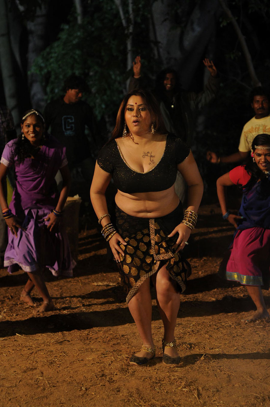 Namitha new hot photos from baja bajantrillu