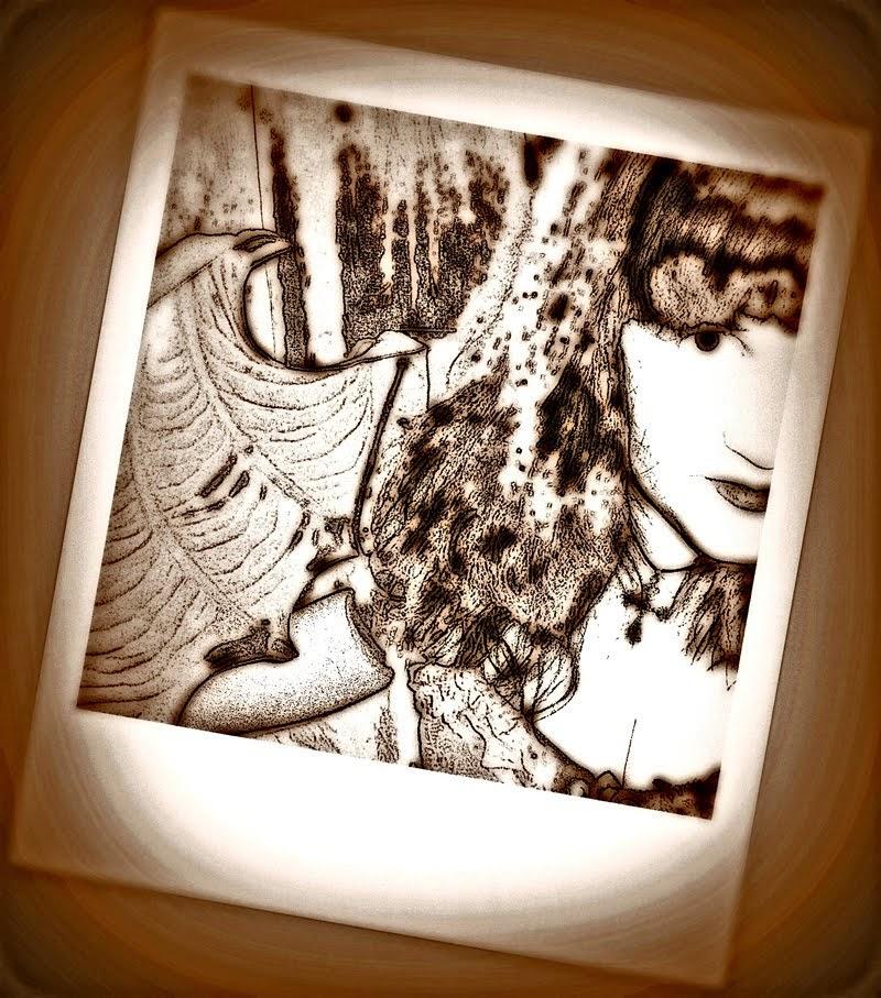 Omakuvia Seepia 2014 Polaroid