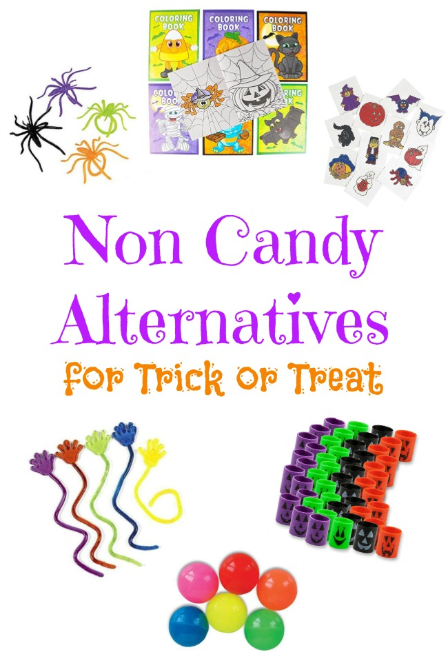 With all the food allergies out there, why don't we offer something different? Try giving out small toys for kids so that everyone can enjoy trick or treat.