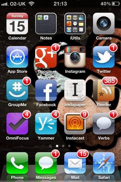 notifikasi aplikasi pada smartphone