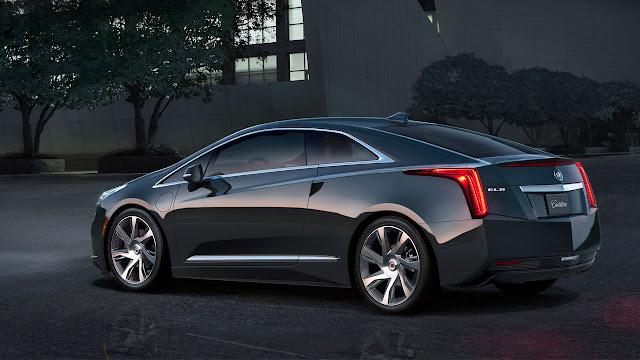 Cadillac ELR back