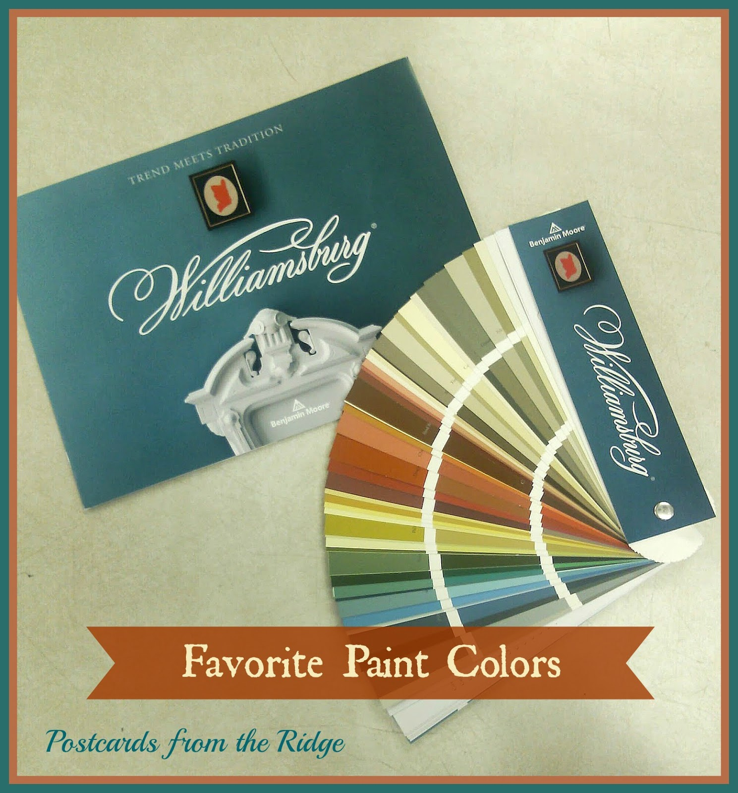 Favorite Paint Colors ~ The New Williamsburg Collection From .