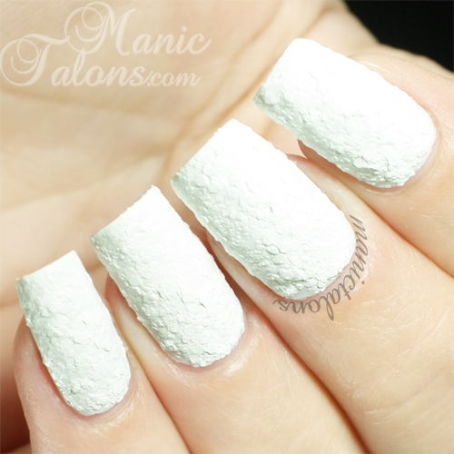 KBShimmer White Here White Now Swatch