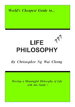 World&#39;s Cheapest Guide to Life Philosophy