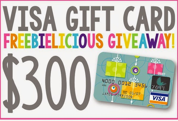 ENTER TO WIN A $300 VISA GIFT CARD and so much more!