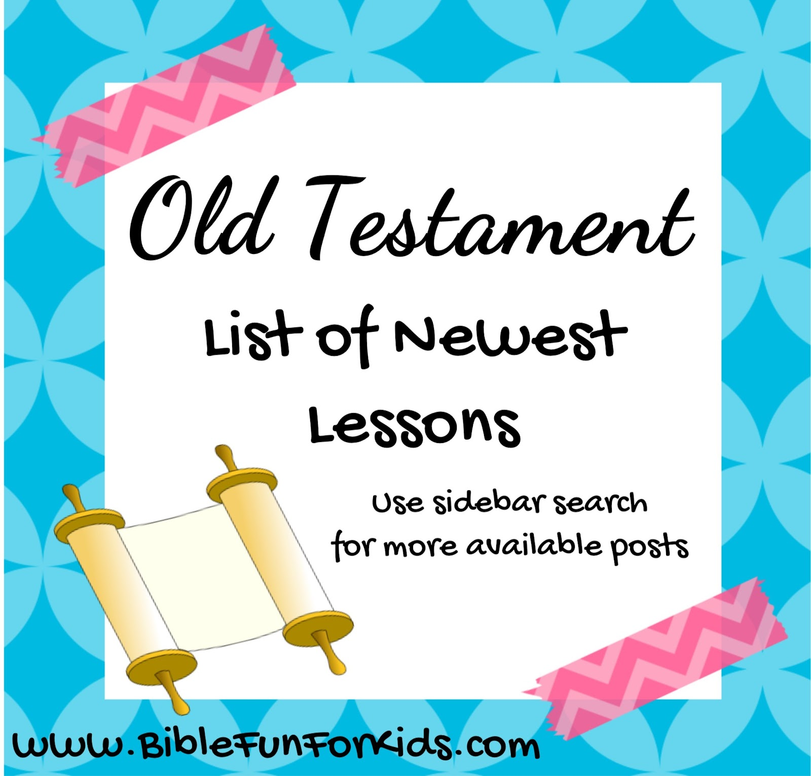 Bible fun for kids old testament people lesson list links for Job bible lesson craft