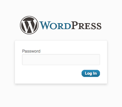 access your WordPress