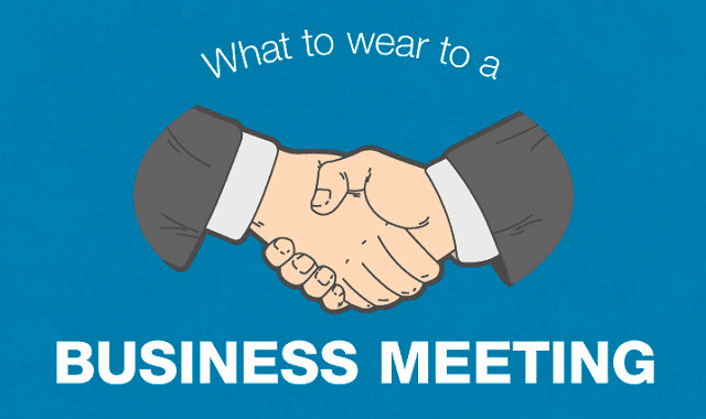 Image: What To Wear To A Business Meeting