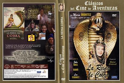 Carátula dvd: La Reina de Cobra