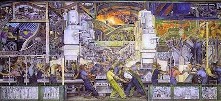 """""""Il y a des murs à abattre et des Murales à protéger. Comme celles de Diego Rivera, à Detroit"""""""