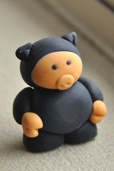 ninja pigs cake