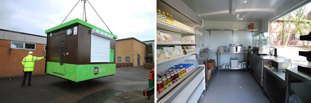 PKL Food Cube at Tewkesbury School