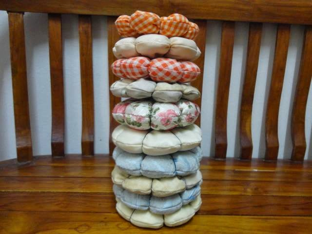 Stack of Pin Cushions