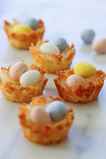 Coconut Macaroon Nests - perfect for Easter