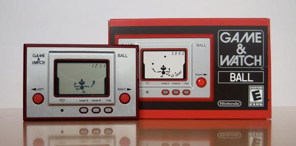 Primeiro Game & Watch lançado pela Nintendo no ano de 1980