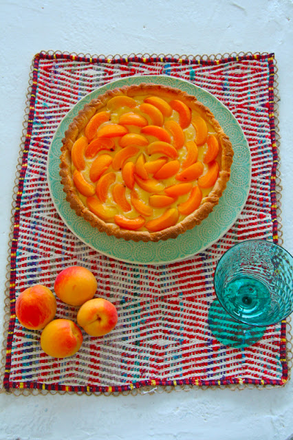 Apricot tart – Τάρτα με βερύκοκα