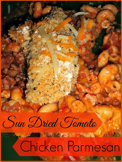 Rockabilly Grillin': Sun Dried Tomato Chicken Parmesan Recipe