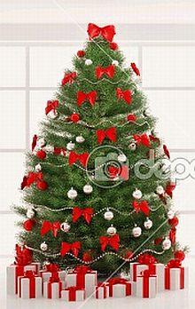 Arboles de navidad color rojo parte 2 - Cintas arbol navidad ...