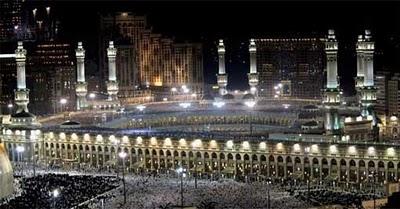 Gambar Keindahan 10 menara Masjid Nabawi, Masjid Al Haram Mekah  Saudi Arabia