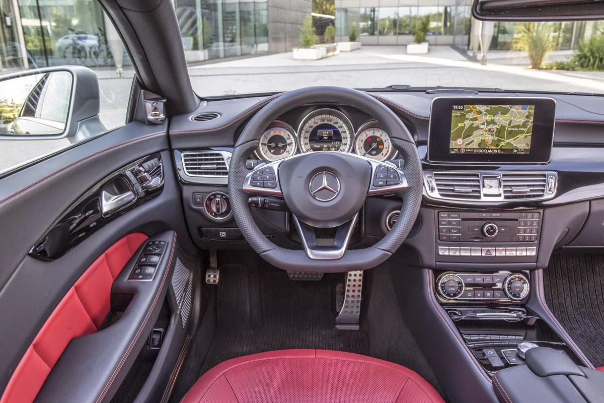 2015 Mercedes Benz CLS Class Wallpaper