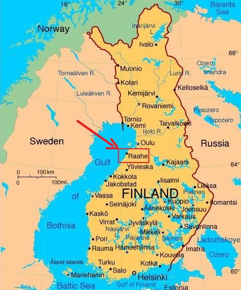 Ultima Thule Raahe an heritage town by the Gulf of Bothnia in
