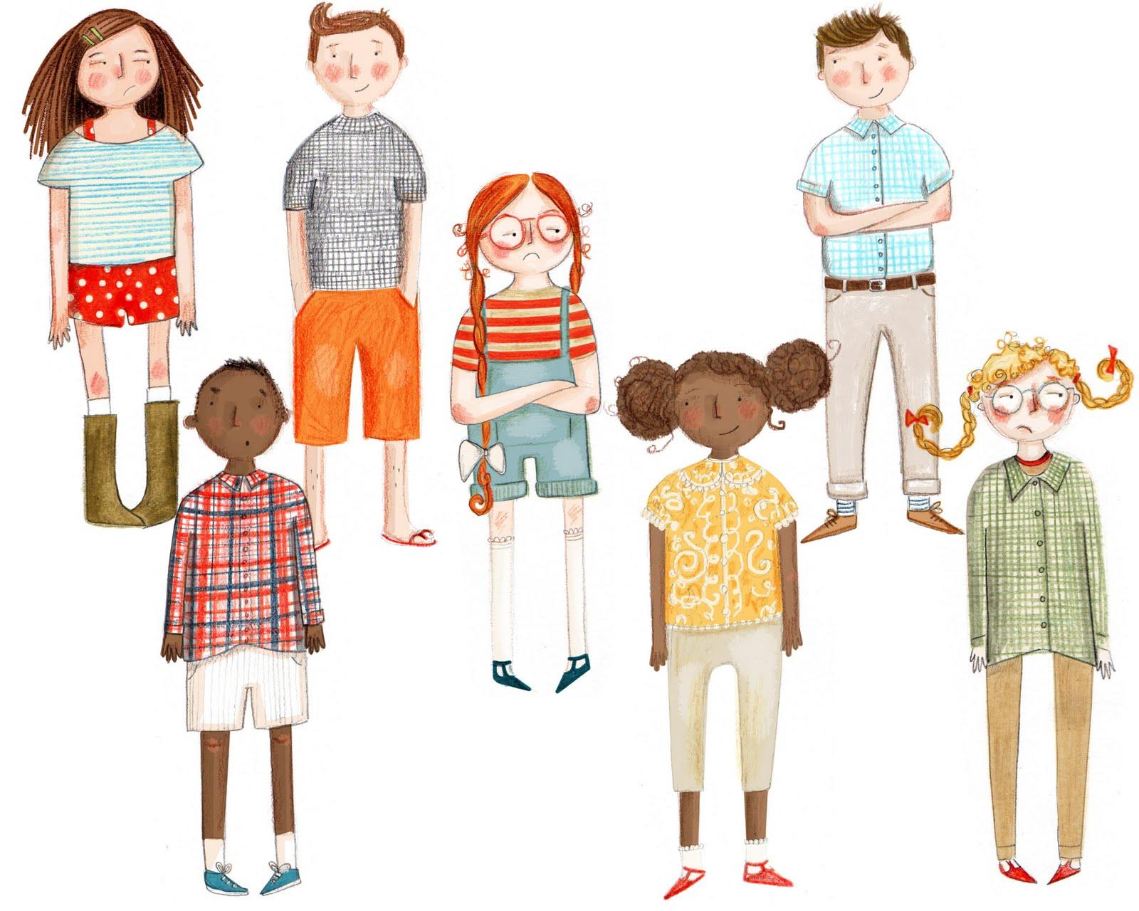 Character Design For Children S Books : Kristyna litten character development