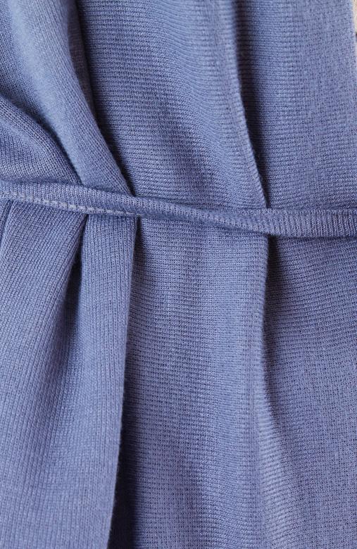 Wanderer Fine Knit Cardi – Lavender Blue