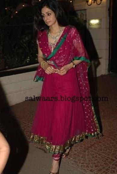 Pretty Woman: Glamorous Party Wear Salwar Kameez