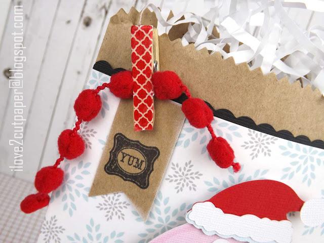 Santa, Donut, ilove2cutpaper, LD, Lettering Delights, Pazzles, Pazzles Inspiration, Pazzles Inspiration Vue, Inspiration Vue, Print and Cut, svg, cutting files, templates,
