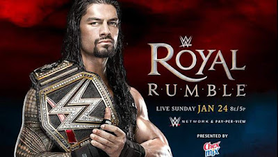 Royal Rumble 2016 match card