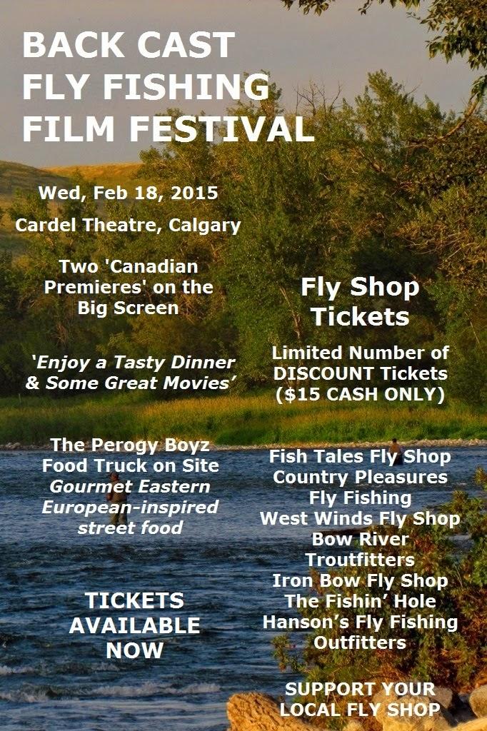 Bow river shuttles fly shop tix back cast fly fishing for Fly fishing film festival