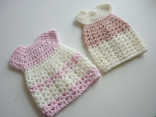 Free Crochet Preemie Baby Dress Patterns : Mamma That Makes: Davida Gown - Free Crochet Pattern