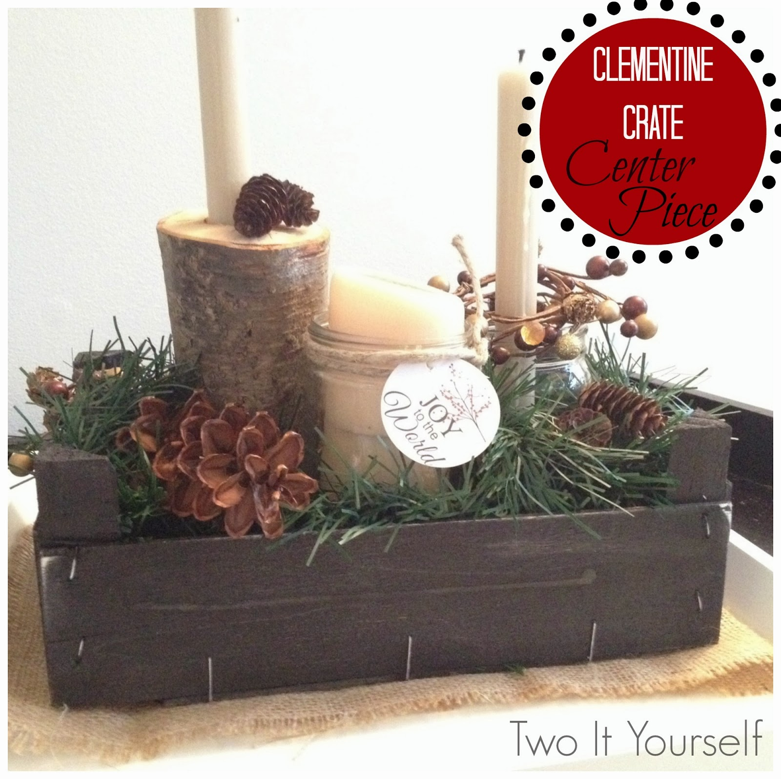 Two It Yourself 20 Beautiful Amp Easy Christmas Decorations