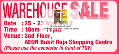 AEON Warehouse Sale