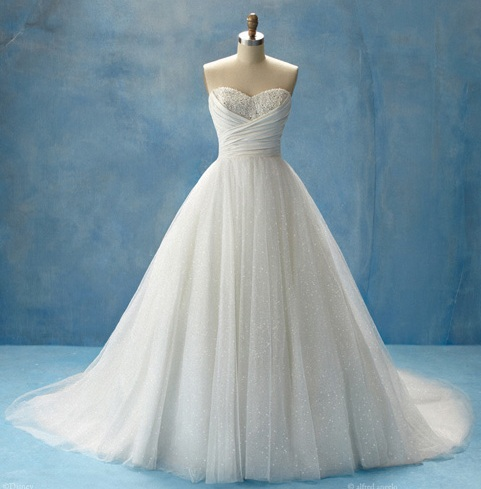 2011 wedding dresses trends disney cinderella wedding for Disney style wedding dresses