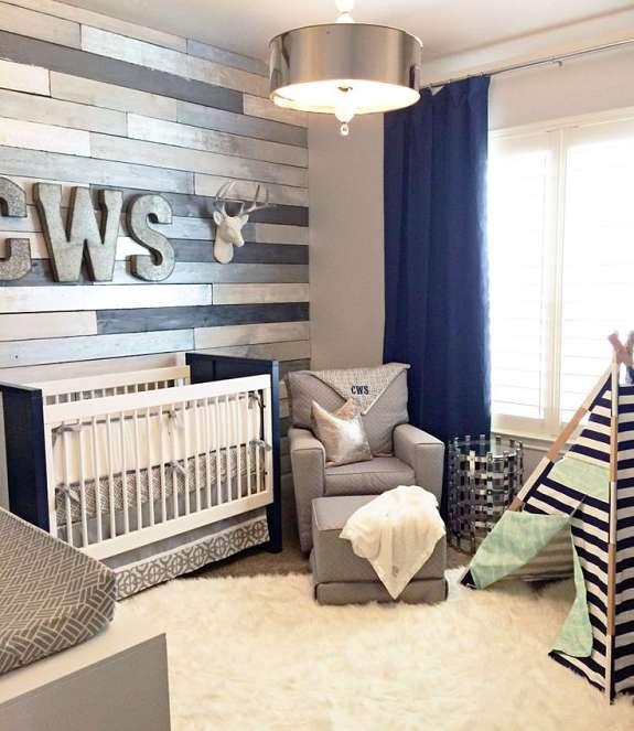 10 habitaciones infantiles en color gris oasisingular - Colores habitacion nino ...