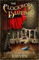 The Clockwork Bluebird Ravven, cover