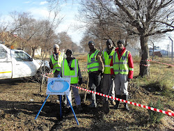 Water reticulation team